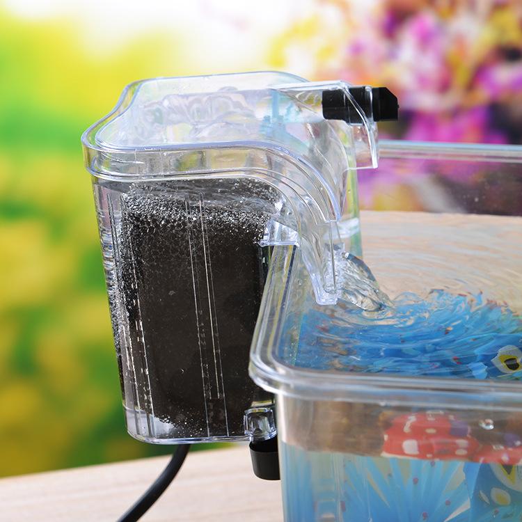 水族箱魚缸過濾器迷你過濾器外掛過濾器水質過濾器diy魚缸過器圖片