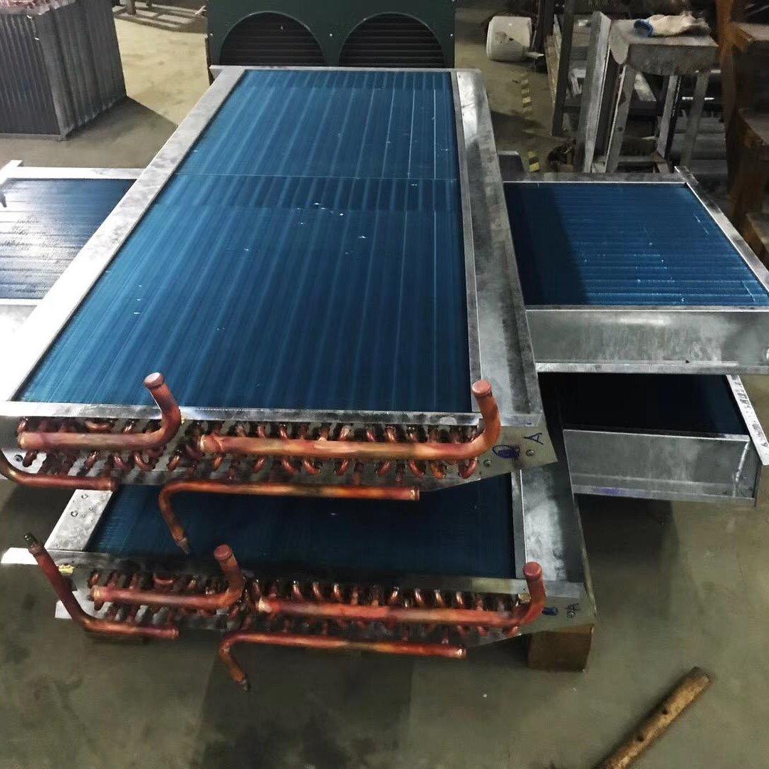 四川成都廠家直銷散熱器 翅片式冷凝器  不銹鋼冷凝器 中央空調冷凝器  換熱器廠家
