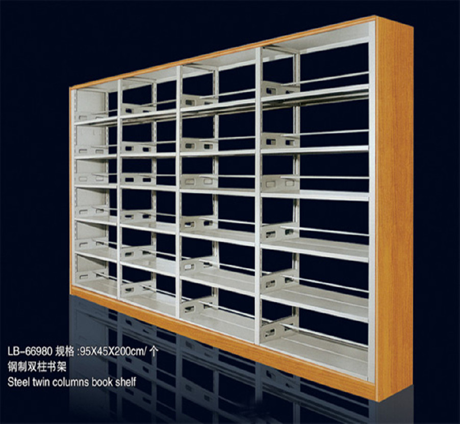 批发图书馆书架 厂家直销书架 批发澳门、厦门、图书馆书架示例图8