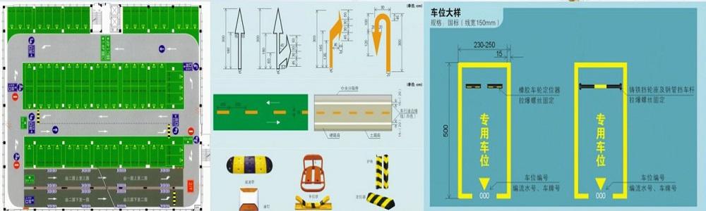 車庫平面圖設計及交通標示.jpg