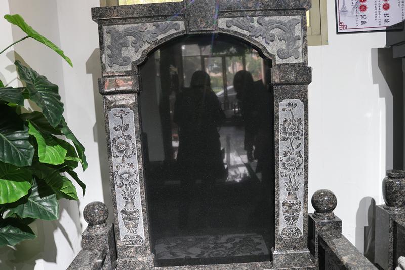 广东传统墓碑豪华碑艺术墓碑家族墓碑厂家直销批发示例图4