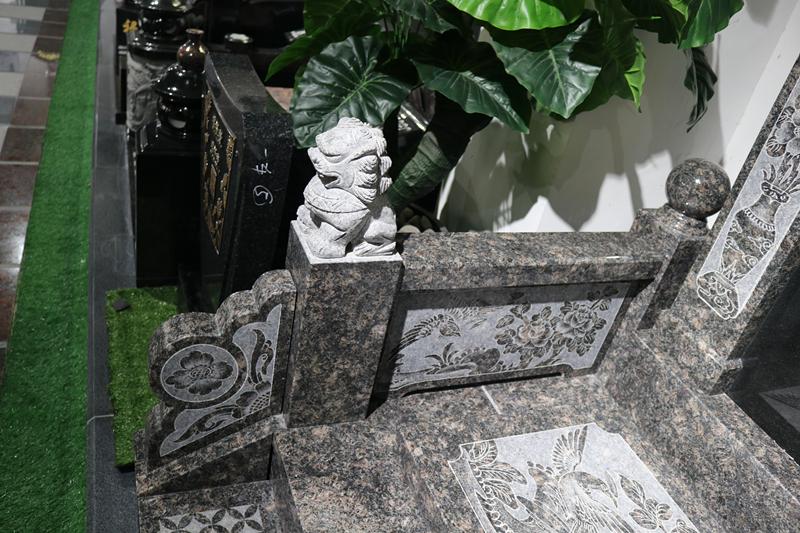 广东传统墓碑豪华碑艺术墓碑家族墓碑厂家直销批发示例图5