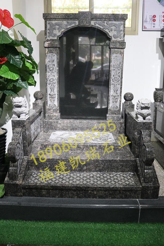 广东传统墓碑豪华碑艺术墓碑家族墓碑厂家直销批发示例图10