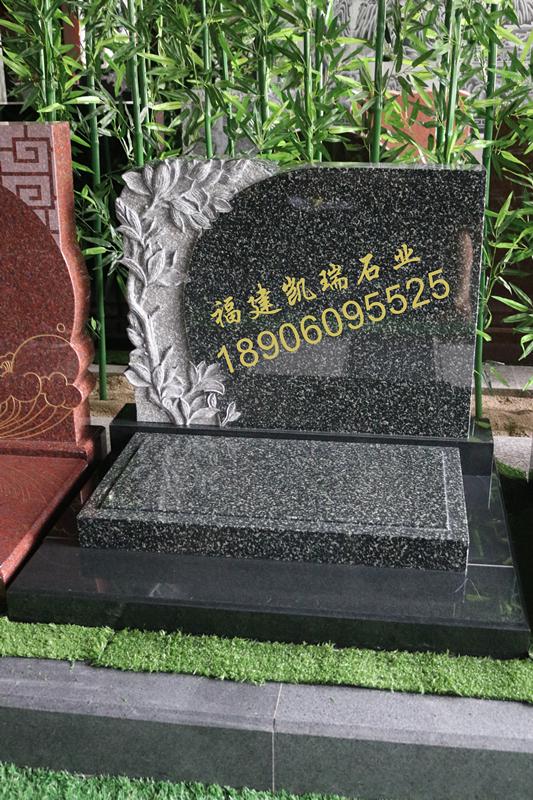 凯瑞墓碑厂家直销艺术墓碑 小型生态墓碑 量大可定制个性化墓碑示例图4