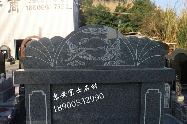 墓碑加工厂福建富士石材专业生产墓碑20年品质保障价格实惠 墓碑厂家直销传统墓碑示例图2