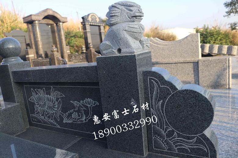 墓碑加工厂福建富士石材专业生产墓碑20年品质保障价格实惠 墓碑厂家直销传统墓碑示例图5