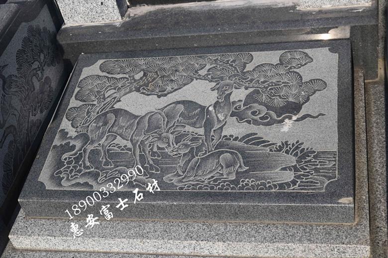 福建墓碑厂家直销瓦盖传统墓碑 定制墓碑造型 批发量大价格优惠示例图8