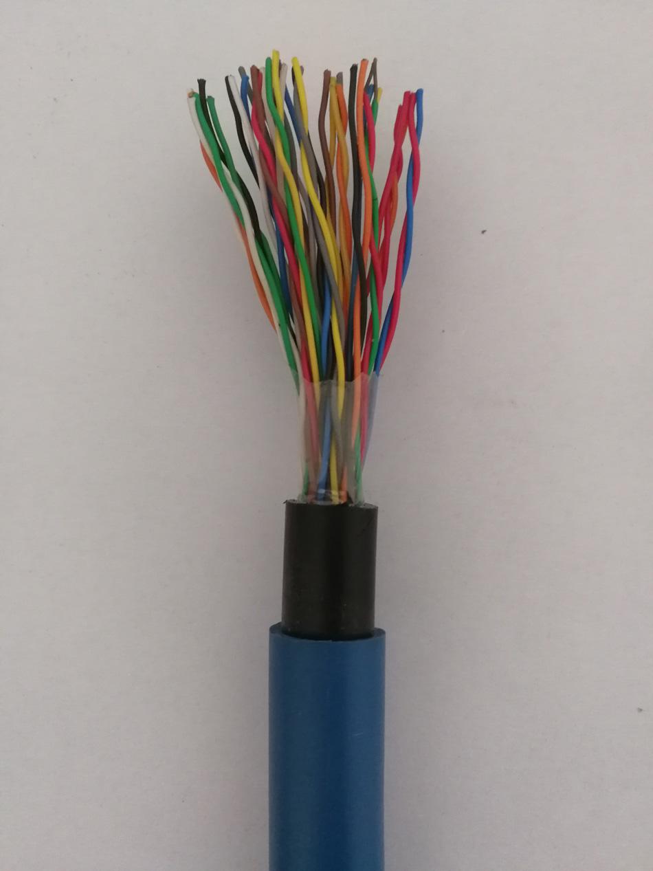矿用通信电缆 10对矿用通信电缆 20对矿用通信电缆 30对矿用通信电缆 50对矿用通信电缆示例图1