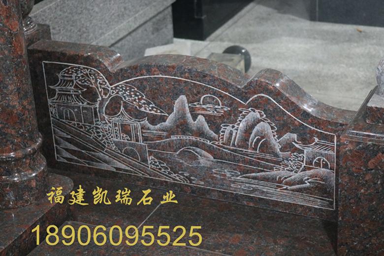 惠安墓碑厂家凯瑞石业直销传统墓碑 墓碑批发直销价格优惠 可支持定制示例图5