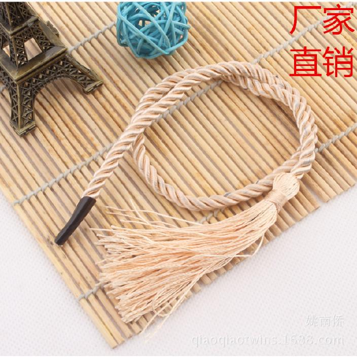 厂家直销  各种规格 环保合格 手提绳子 卡头绳子 礼品袋绳手挽绳图片