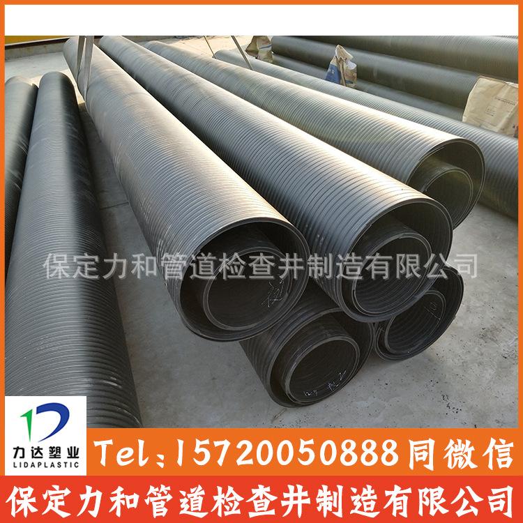 中空壁缠绕管 井壁管 HDPE双平壁缠绕管示例图11