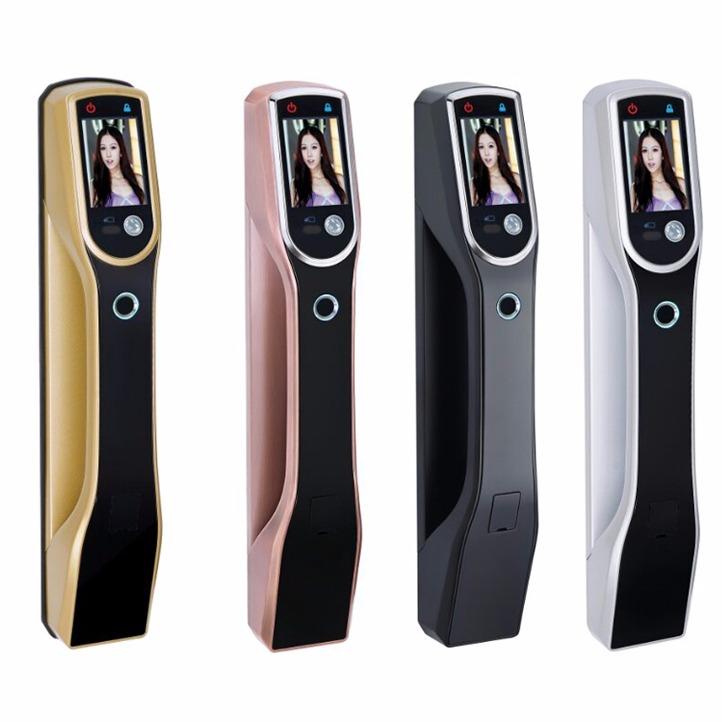 优质智能锁厂家直销思裕S9069全自动人脸识别智能锁六合一功能 人脸识别,掌静脉、指纹、密码、刷卡、钥匙