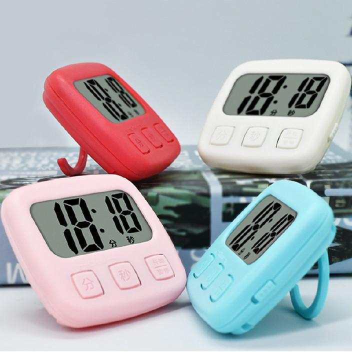 中文定時器 lcd大屏幕數字多功能正倒計時器電子提醒器廚房定時器圖片