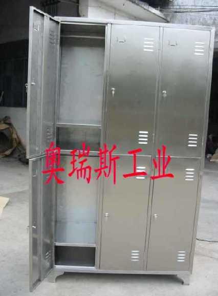 24门不锈钢鞋柜/6门不锈钢更衣柜/不锈钢储物柜生产厂家
