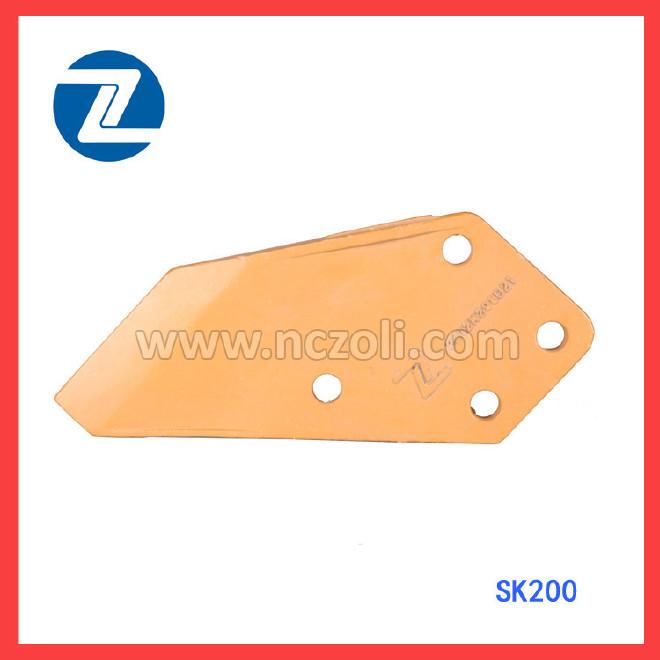 神鋼挖掘機配件 SK200耐磨刀角板 邊齒 精密鑄造 廠家批發圖片