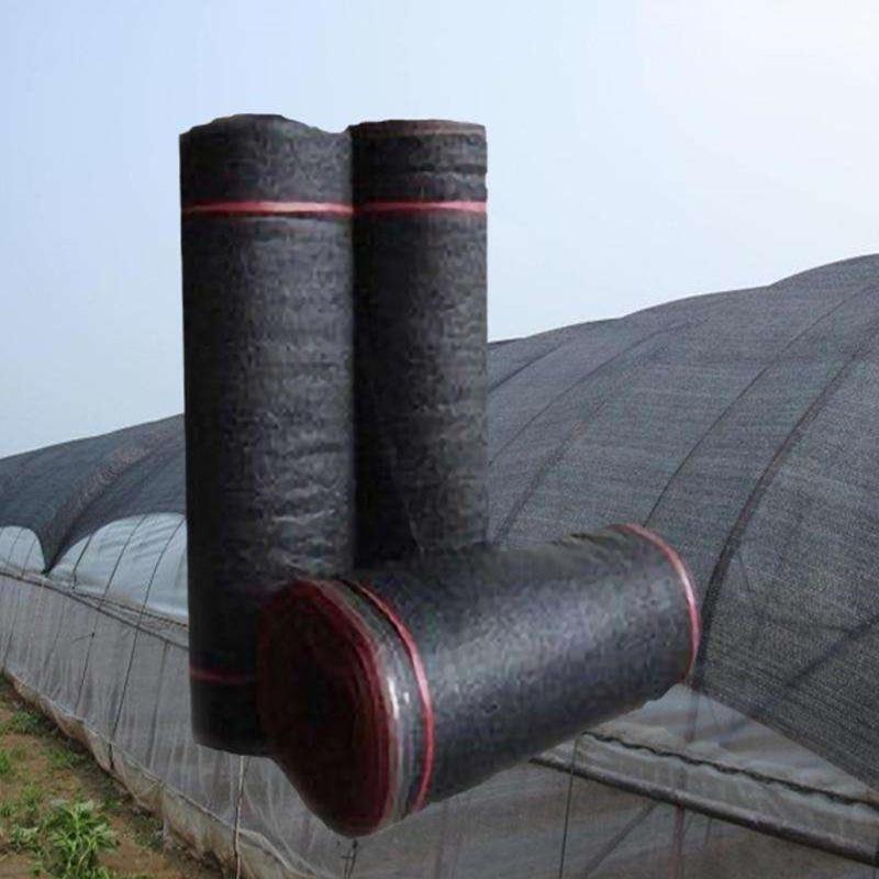 黑色遮阳网价格 4针遮阳网 2米宽防晒网 6米 8米遮阳网批发价格 6针遮阳网 规格齐全