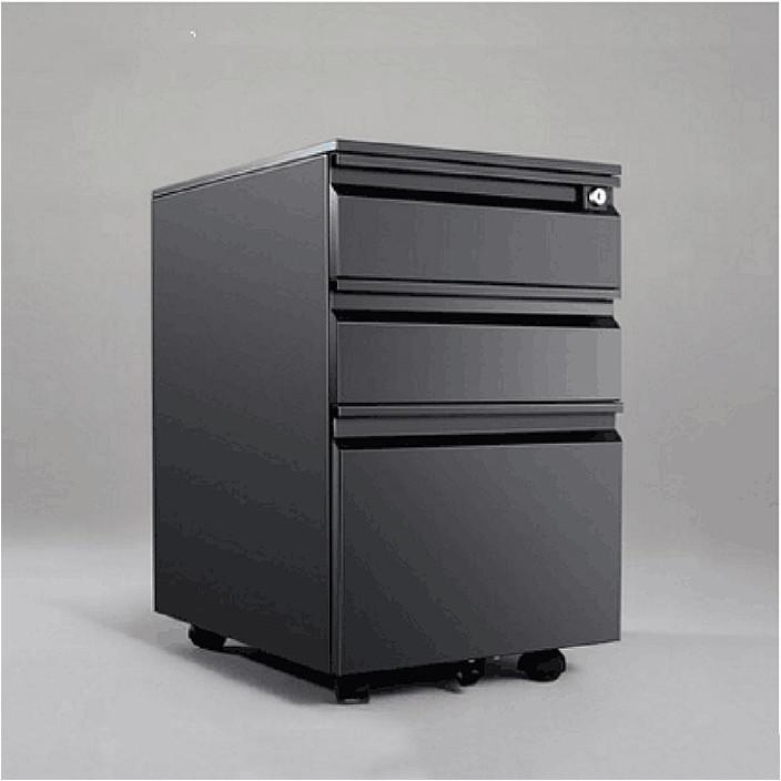 直销铁皮活动柜三抽移动柜文件柜矮柜办公储物柜桌下抽屉柜带锁
