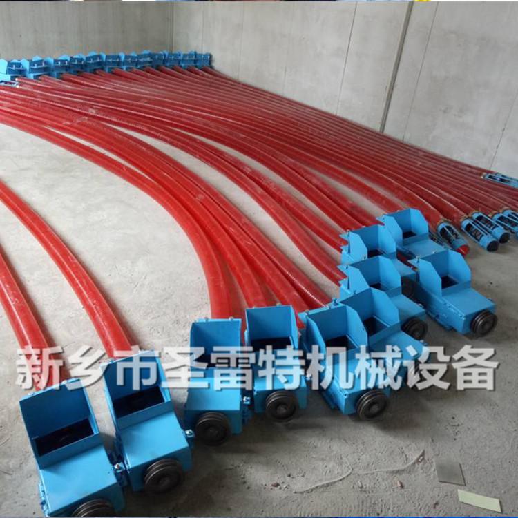 圣雷 應管徑100吸糧機彈簧葉片 75型螺旋葉片 車載抽糧機螺旋彈簧示例圖6