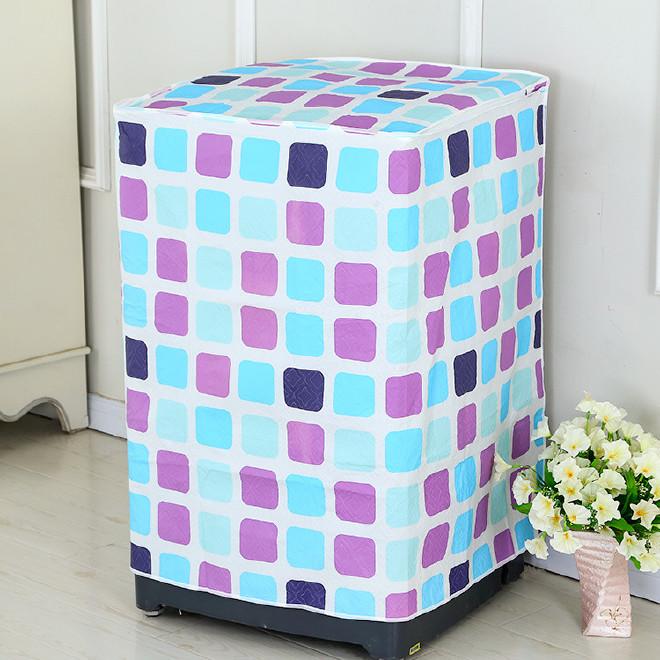 洗衣机罩 多色小清新洗衣机罩 耐脏加厚防晒洗衣机罩防尘套批发