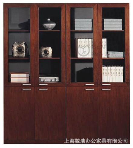 厂家直销办公家具上海 书柜 板式书柜 木书柜