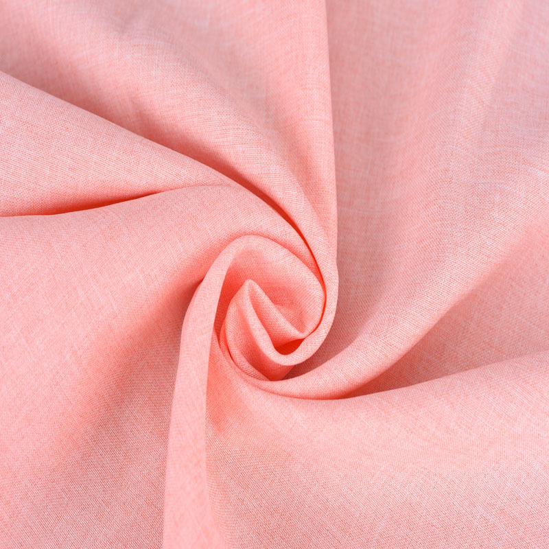 廠家直銷全滌梭織面料雙色平紋 時裝休閑服外套褲裝布料
