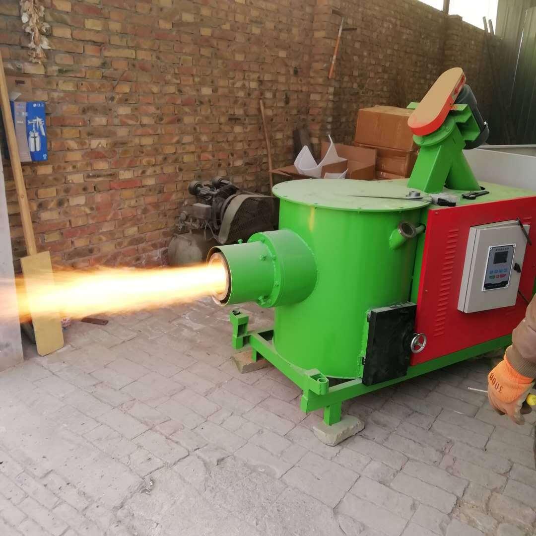 河北生物質燃燒機  銘越90萬大卡鍋爐改造顆粒燃燒機  噴涂生物線烘干線改造燃燒器示例圖8