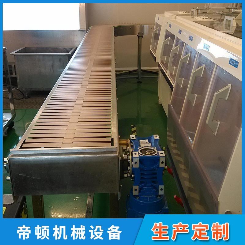 企业采集非标塑钢多列链板输送机 双列不锈钢链板输送线 结构紧凑