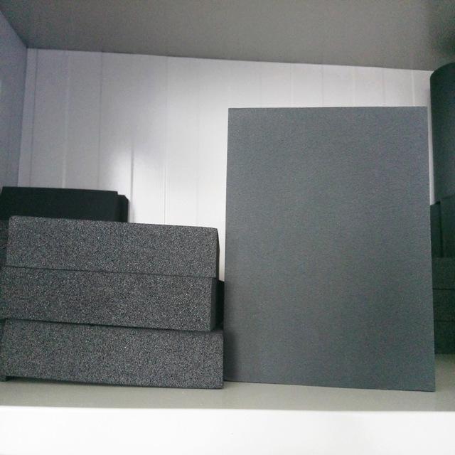 橡塑板保温材料阻燃隔热铝箔贴面橡塑板b1级橡塑保板
