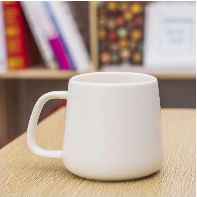 厂家直销 陶瓷水杯 创意马克杯 带手柄办公室水杯 会议杯