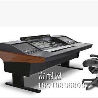 富耐恩音频桌演播室录音工作台音频控制桌音频工作台播音桌直销录音棚音频台图片