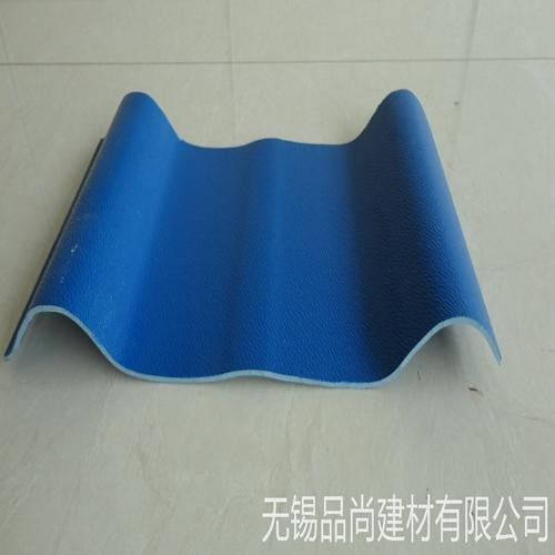 专业生产合成树脂塑钢瓦 840型pvc防腐塑钢瓦 江苏防腐瓦厂家