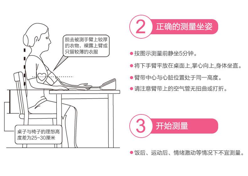 魚躍電子血壓計YE680A家用上臂式血壓儀器全自動智能血壓測量儀示例圖15