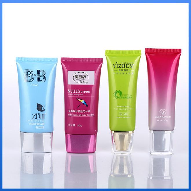 BB霜胶管 化妆品塑料软管 PE软管包装 30/40/50g塑胶管图片