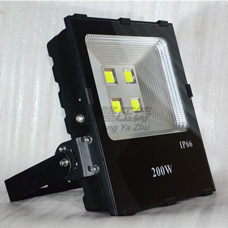 新款仿超玉米紋高效反光 LED大功率200W投光燈外殼 泛光燈外殼