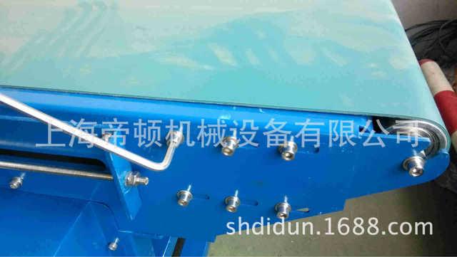 企业采集碳钢移动式直线刀口皮带输送线 PVC刀口输送机 运行稳定