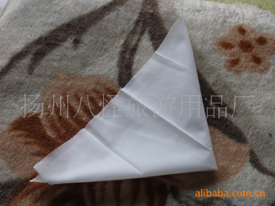 酒店餐厅一次性湿毛巾 湿毛巾 酒店宾馆专用 白方巾示例图28