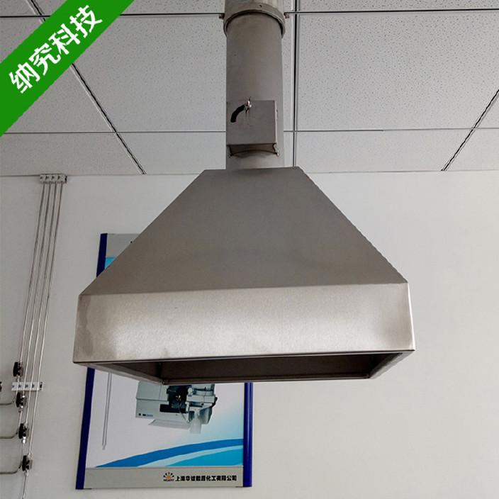 304不锈钢排气罩 实验室不锈钢原子吸风罩吸收罩 抽气罩排风罩图片