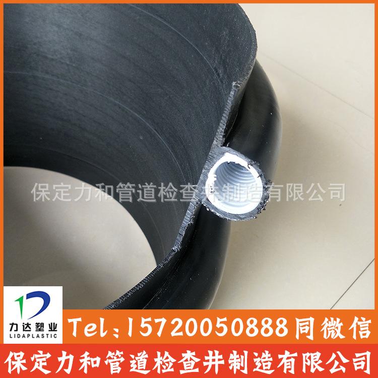 保定力和管道专业生产克拉管 聚乙烯缠绕结构壁管B型 100%全新料示例图9