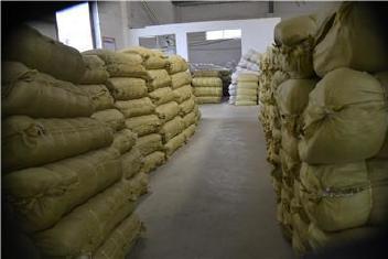 黄色编织袋厂特价80斤粮食袋普黄色蛇皮袋中厚结实塑料编织袋批发示例图26