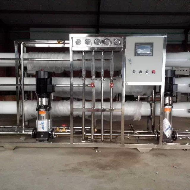 全自动水处理设备桶装水厂前景 去除水中重金属的设备全自动锅炉软水器 医院透析水处理设备图片