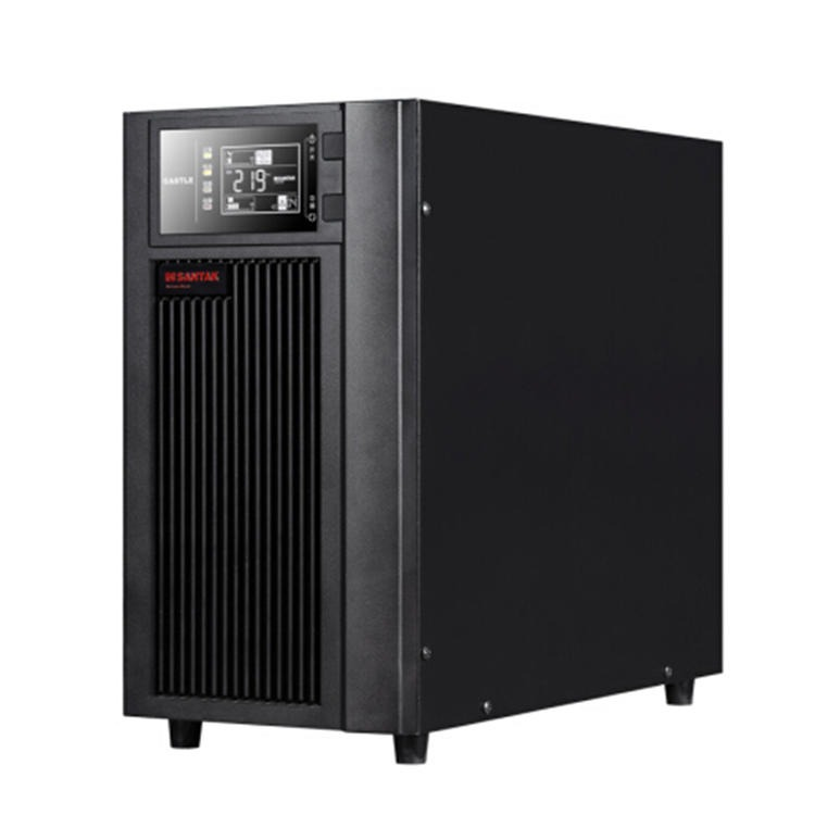 深圳山特C10KS 山特UPS電源 高頻在線式 單進單出 10KVA/8KW 非美國山特 需外接電池 河北山特代理