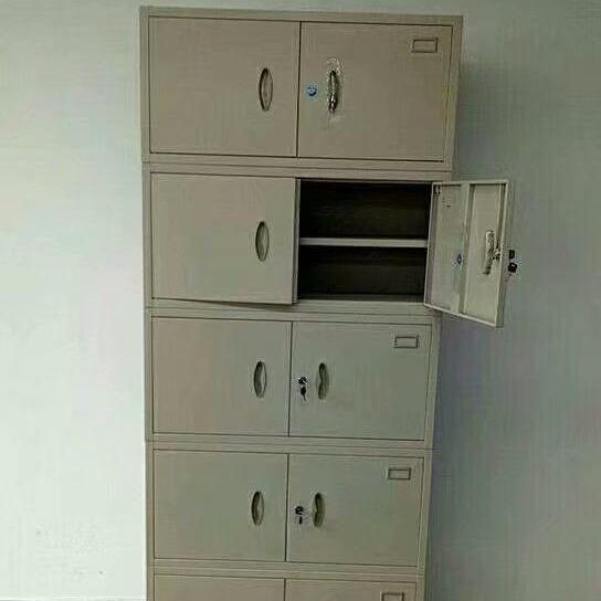 杭州铁皮文件柜厂家五节凭证档案柜43公斤  防火文件柜