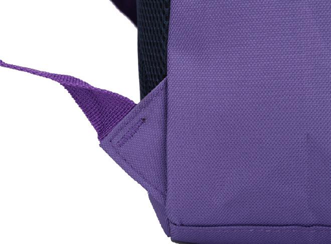 2016新款时尚韩版学院风带盖双肩学生书包 纯色休闲旅游包批发示例图34