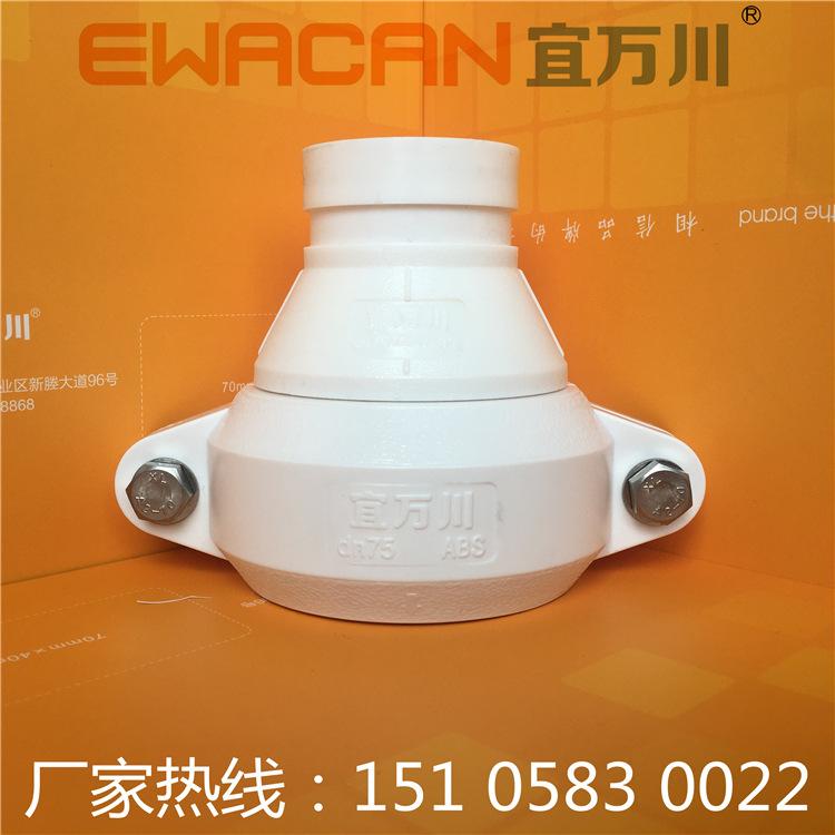 青岛HDPE沟槽式超静音排水管,HDPE柔性承插排水管,装配式HDPE示例图1