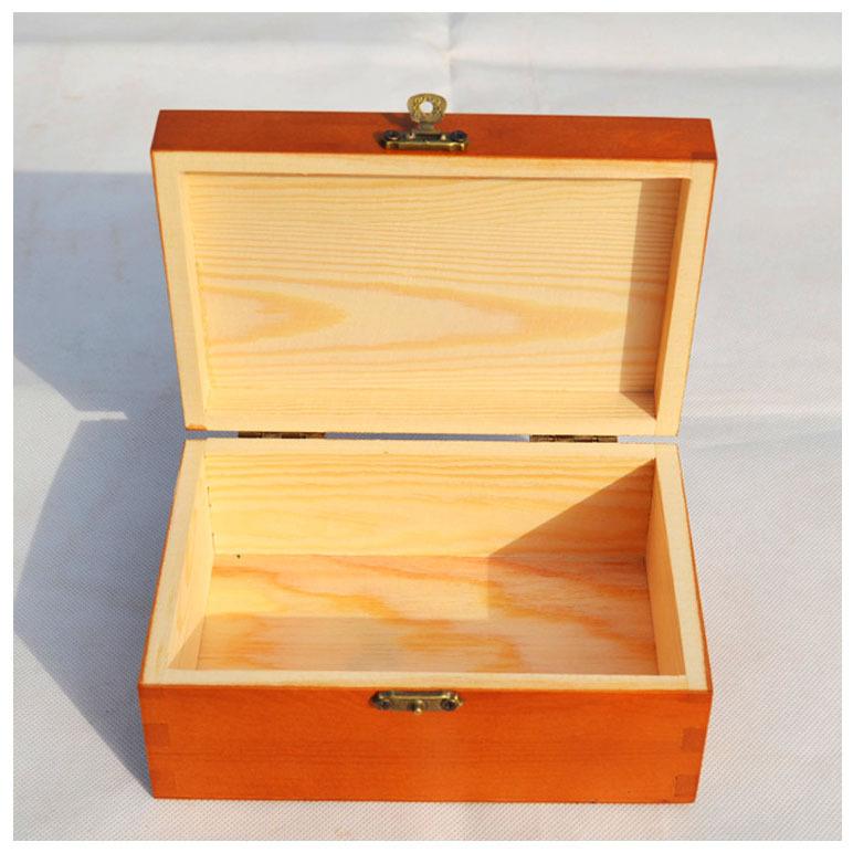 专业定制实木带盖证件盒收纳盒信件证件盒 桌面储物木制收纳盒
