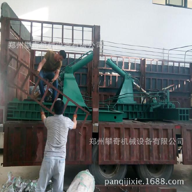 攀奇金属下角料压块机 废旧金属液压压块机 郑州废铁压块机厂家示例图6