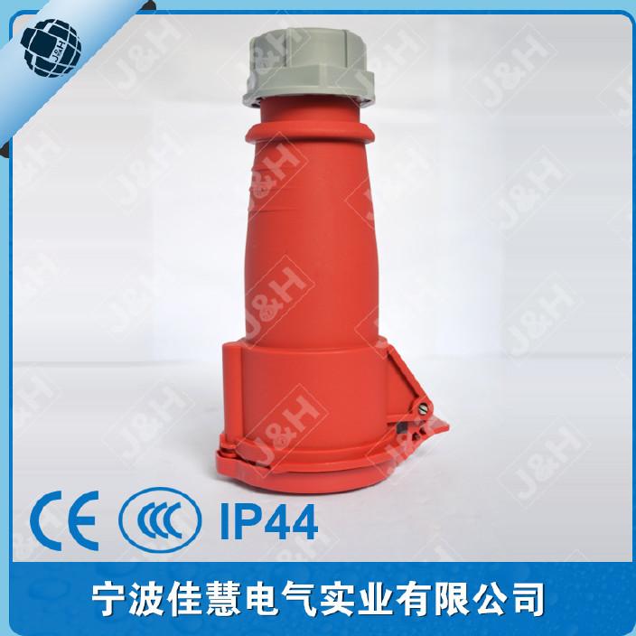 【佳慧工业雪人电气欧标连接器5P32AIP44的图纸插座图片