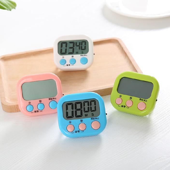 4351多功能正負倒計時器廚房定時器提醒器便捷大屏幕電子秒表 86G圖片