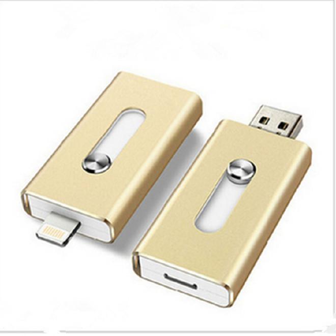 小推拉u盤16G 適用于蘋果手機u盤32g三用u盤otg u盤64G 足量高速圖片