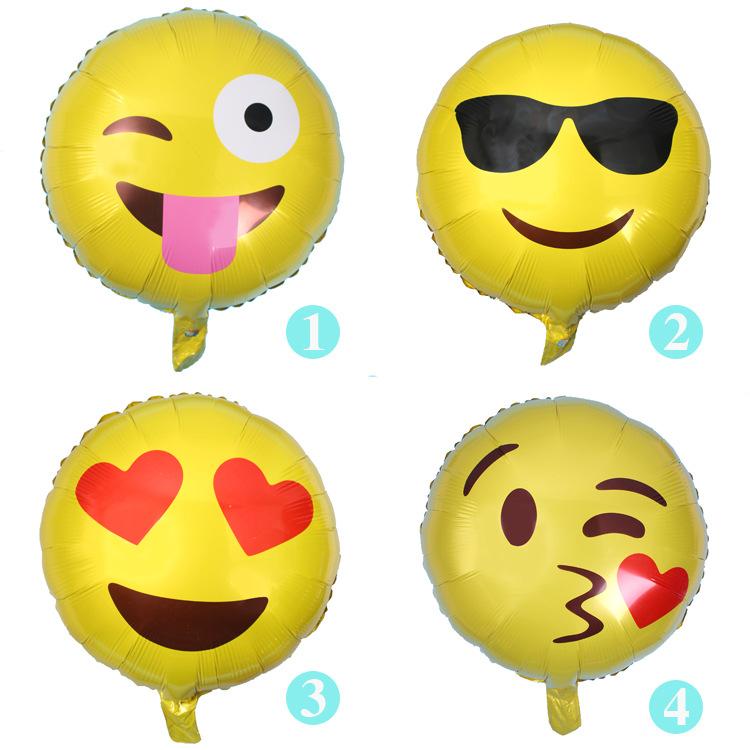 【表情emoji图片铝膜表情气人a表情飞吻表情真调皮新品气球图片